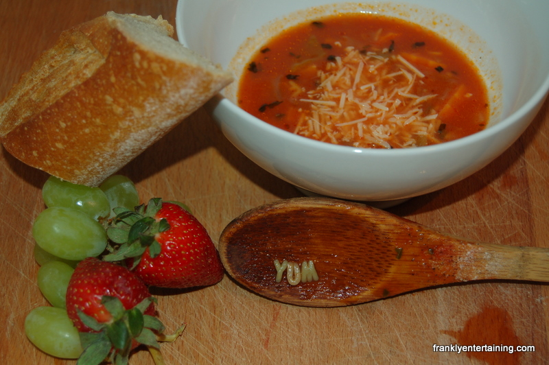 Tomato Noodle Soup for Kids