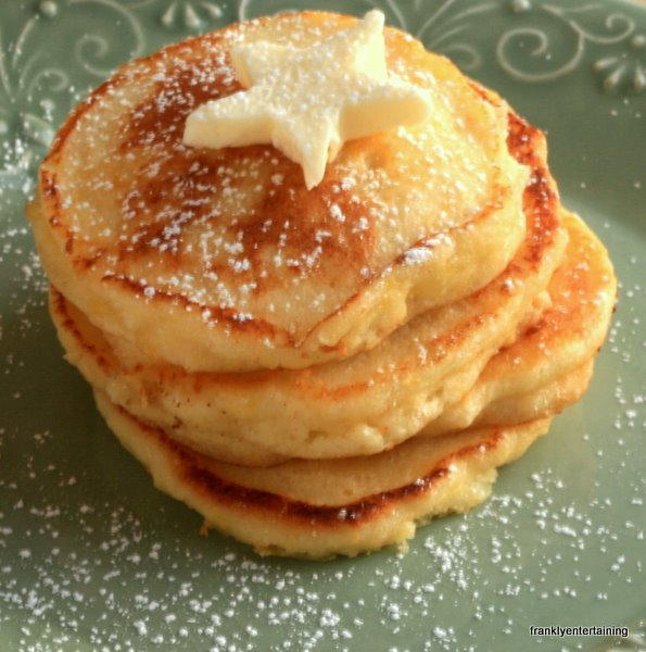Lemon Ricotta Pancakes from the Four Seasons Hotel - Frankly ...