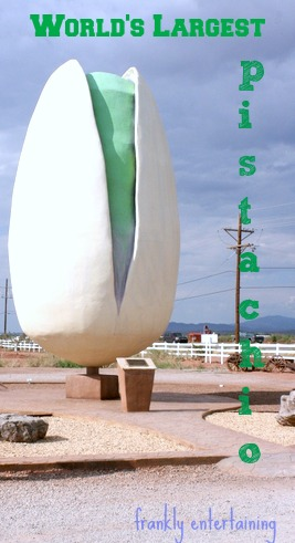 World's Largest Pistachio