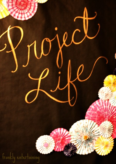 Project Life Party | Frankly Entertaining