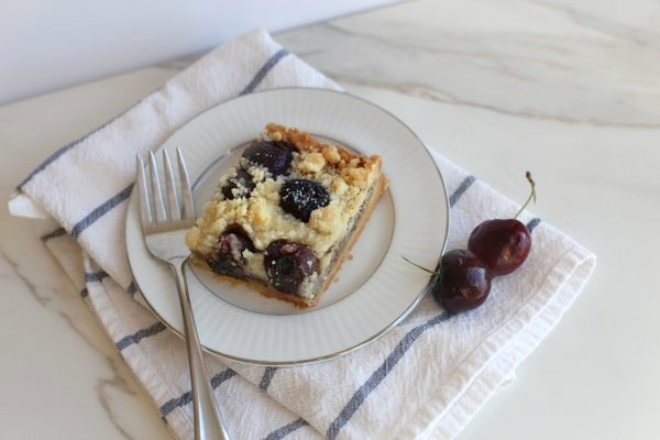 Cherry Crumble Tart|Frankly Entertaining