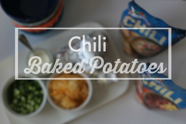 Chili Baked Potatoes|Frankly Entertaining