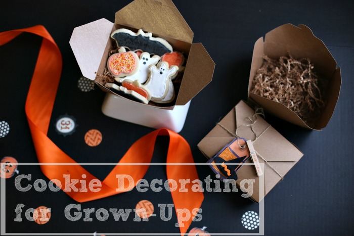 Cookie Decorating Party for Grown Ups| Frankly Entertaining