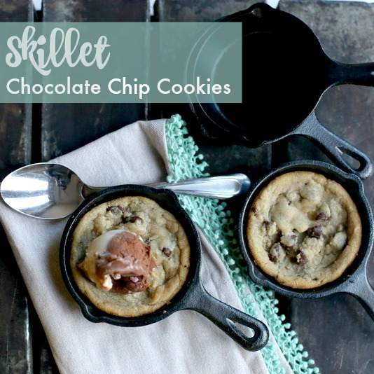 Skillet Cookies|Frankly Entertaining