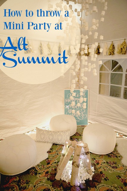 Alt Summit Mini Party|Frankly Entertaining