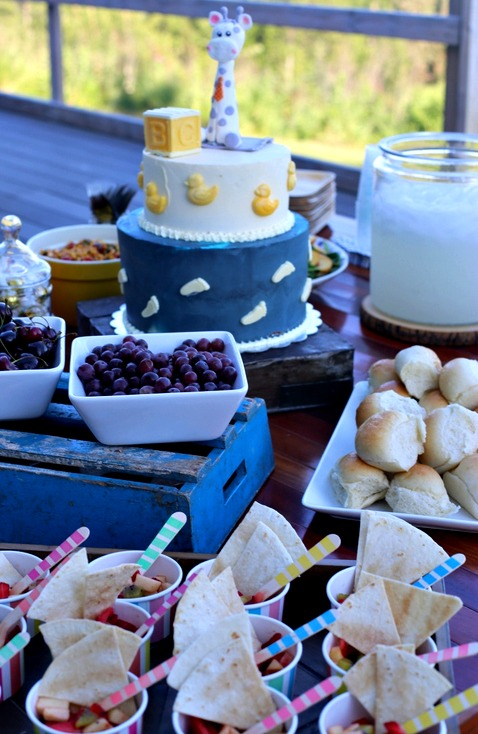 Food for a baby shower | Frankly Entertaining