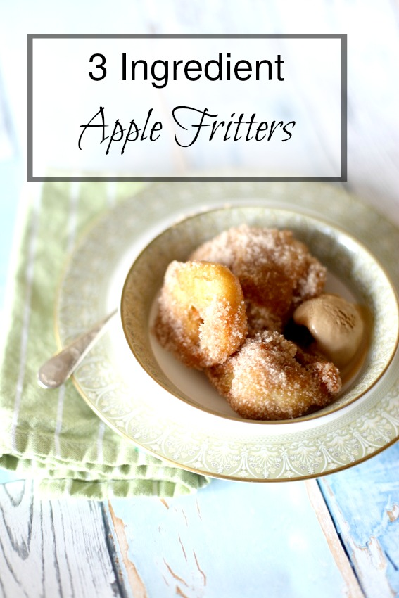 Easy Apple Fritters|Frankly Entertaining