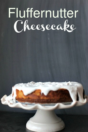 Fluffernutter Cheesecake | Frankly Entertaining