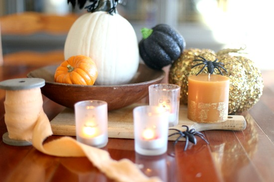 Jack O'Lantern Votives|Frankly Entertaining
