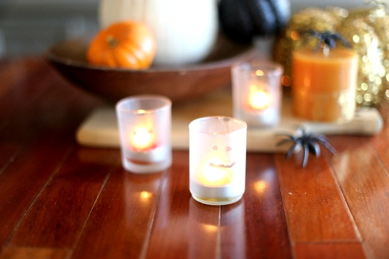 Halloween Votives | Frankly Entertaining