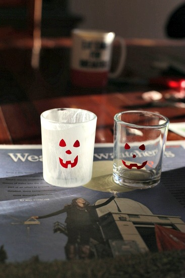 Halloween Votives|Frankly Entertaining