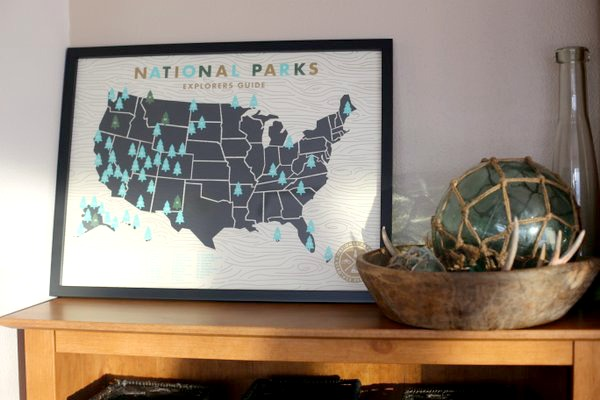National Parks Map|Frankly Entertaining